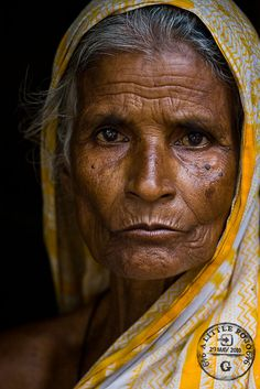 Portrait of a woman in Bangladesh. Old Faces, Many Faces, Face Reference, Ageless Beauty, Interesting Faces, People Around The World, Old Women, First World, Character Inspiration