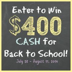 $400 PayPal Cash Giveaway Ending on: 08/10/2014 Open to: United States, Canada, Other Location http://www.giveawaypromote.com/2014/07/28/400-paypal-cash-giveaway/?utm_campaign=coschedule&utm_source=pinterest&utm_medium=Giveaway%20Promote%20(Can't%20Miss%20Giveaways)&utm_content=%24400%20PayPal%20Cash%20Giveaway