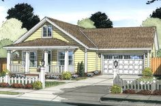 Craftsman Plan: 1,277 Square Feet, 3 Bedrooms, 2 Bathrooms - 4848-00324