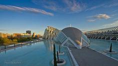 Golden hour in Valencia