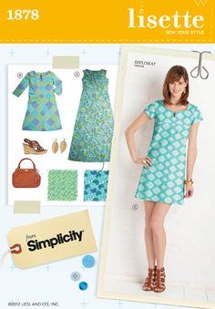 diplomat dress sewing pattern