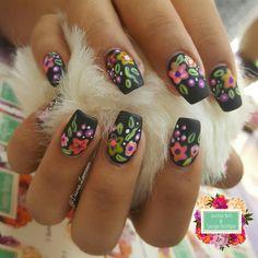 Mexican Folk Art Nails