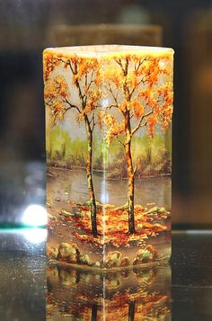 The Four Seasons of Daum Nancy glass | Philip Chasen Antiques