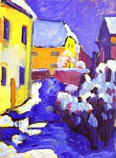 ART! looking at beautiful images is a sure fire way to cheer yourself up, visit a gallery, go to the library, look online...... Painting by Wassily Kandinsky