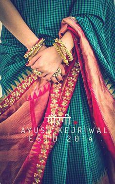 Banarsi Saree by Ayush Kejriwal For purchases email me at… Indian Fashion, Saree, Desi Fashion, Indian Wedding Outfits, Saree Designs, Indian Designer Wear, Indian Silk Sarees, Indian Attire, Saree Blouse Designs