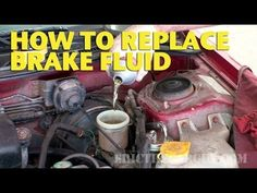 How To Replace Brake Fluid by Yourself - EricTheCarGuy - YouTube