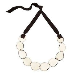 Flora Tagua Nut Necklace - Cream - Faire Collection