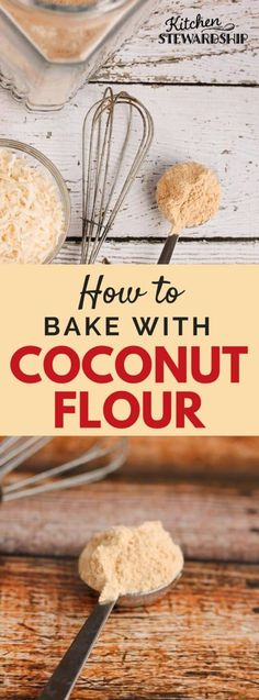 How to use coconut flour in baking (and what NOT to do!) Grain free baking with coconut flour is nothing like regular baking. how to do paleo diet Recipes Using Coconut Flour, Coconut Flour Cakes, Almond Flour Bread, Baking With Coconut Flour, Baking Flour, Almond Recipes, Coconut Oil, Cookies With Coconut Flour, Almond Butter