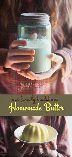 homemade butter recipe pin