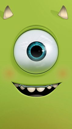 Funny cutie monster inc. - Tap to see more cute cartoon wallpapers! Quirky Wallpaper, Cartoon Wallpaper Hd, Funny Wallpapers, Tumblr Wallpaper, Disney Wallpaper, Screen Wallpaper, Wallpaper Backgrounds, Matching Wallpaper, Iphone Wallpapers