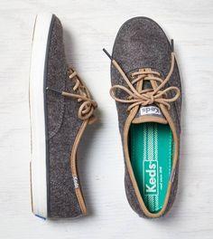 Grey Keds Champion Wool Sneaker