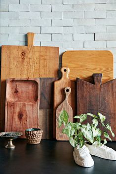 group items, like unique cutting boards