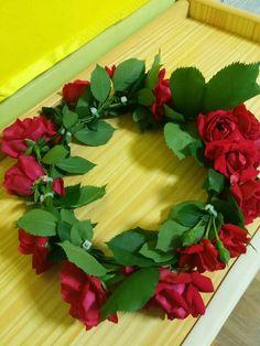 장미꽃 화환