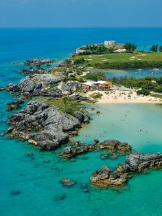 Fort St. Catherine and Tobacco Bay, Bermuda