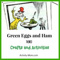 Green Eggs Math Mats For Counting Addition Subtraction Free Printable Optional BampW Version