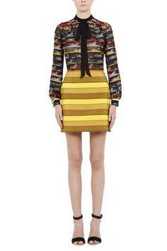 Rs17 cs013 103 mustard clovis skirt front 1