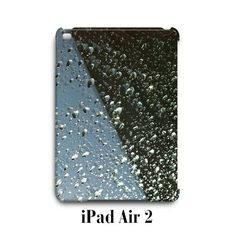Water Drop Blue Brown iPad Air 2 Case Cover