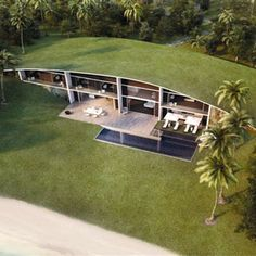 New York-based multi disciplinary design studio Dror have designed residential villas for Nurai, a resort on a natural island off the coast of Abu Dhabi.