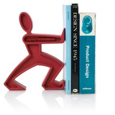 Black+Blum - James The Bookend - Boekensteun - Rood