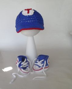 Texas Ranger baseball hat and high tops for boy by ThirtyBabyDucks, $35.00