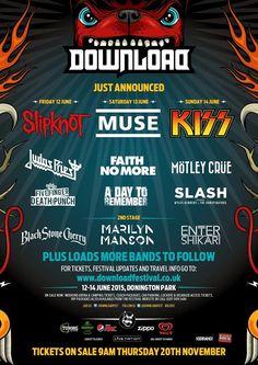 Cartel Download Festival 2015.