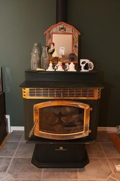 Breckwell Pellet Stove sold in a MaxSold Online Dowsizing Auction in Kingston