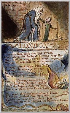William Blake: The ten commandments | romanticism England ...