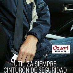 Utiliza siempre cinturón de seguridad mientras conduces. ¡Nos movemos contigo! 🚙  #ozavirentacar #consejosozavi #seguridad #confianza 📱What'sApp: 829.292.9170 ☎Tel: 809.598.2000
