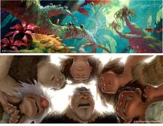 Mais artes de The Croods, agora por Arthur Fong | THECAB - The Concept Art Blog