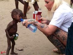"""""""Thousands of children are being accused of being witches and we've both seen torture of children, dead children and frightened children,"""" says aid worker Anja Ringgren Loven, who rescued one of them: an abandoned, starving two-year-old Nigerian boy. - These people need to be educated desperately.  1) Being a Witch is NOT a bad thing, I know I'm one.  2) A two year old has not developed enough to work magic, regardless of how old it's soul is... that's preposterous."""
