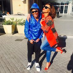 10 Pics Of Bonang And Somizi We Totally Like! Best Pal, Queen B, Your Boyfriend, Pants Outfit, My Wardrobe, Minimalist Fashion, African Fashion, What To Wear, Womens Fashion
