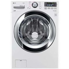 4.5 cu. ft. High Efficiency Front Load Washer with Steam in White, ENERGY STAR  HOME DEPOT  -  $599.00