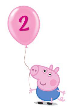Peppa Pig Happy Birthday, Happy Birthday Cake Topper, Painel Peppa Pig, Pegga Pig, George Pig Party, Pig Png, Peppa Pig Teddy, Aniversario Peppa Pig, Barbie Em Paris