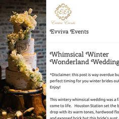 Real weddings by Evviva Events! #winterwedding