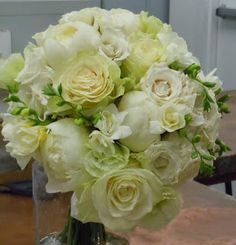 Bridal Bouquet created by Surroundings Flowers for a wedding at the Tappan Hill Mansion.  (7/2012 wedding)