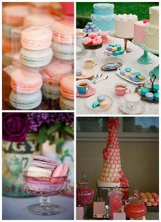 Macaroon Wedding Inspiration