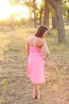 Bright Skies Dress from The Charming Arrow Boutique