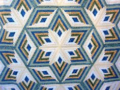 cross quilt patterns | diamond log cabin star quilt pattern 77