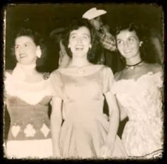 """Patsy Cline, Dale Turner and Mary Klick pose backstage from """"Town And Country Time"""" local tv which aired out of Washington D.C. (date unknown may be mid 1950's.)"""