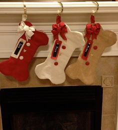**PRICE IS FOR ONE STOCKING. The picture is for samples of the different colors and styles available. The dog bone Christmas stocking is a great way to include your furry friend in the celebration of Christmas. All stockings are made of burlap and are fully lined. Each one has 2 burlap covered buttons along with a wooden heart button and wired ribbon. Stocking hangs from a matching ribbon hanger. The opening at the top is 8 inches wide and the stocking is 18 inches long. Stockings come with…