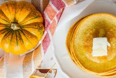 Recipes & Meal, Breakfast Dishes, Pumpkin Spice Greek Yogurt Pancakes | Spud.ca