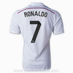 Nueva camiseta de Ronaldo 1st Real Madrid 2015 baratas