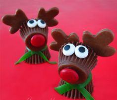 Rudolph the Red Nosed Reindeer Treats | AllFreeHolidayCrafts.com