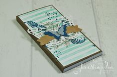 born2stamp STAMPIN' UP! Notizblock - Awesomely Artistic - Schmetterlinge - Brushstrokes