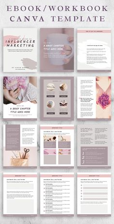 SANDY - Canva eBook and Workbook Template with Content, Worksheet, Checklist, and Resources Page Templates. Online Graphic Design, Web Design, Book Design, Layout Design, Media Design, Cover Design, Design Trends, Opt In, Media Kit Template