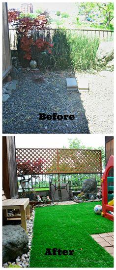 Our Little Garden  Reformed #DIY #Garden