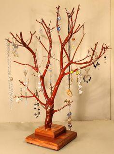 Jewelry Tree  Large Manzanita  965 by RedBarkDesigns on Etsy, $38.00