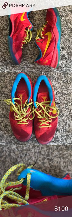 more photos 53094 0a06e Nike Kobe 8 Year Of The Horse Size 9 Best Kobe shoes performance wise!  Super comfortable and hella light! Theyre in 710 conditon due to the  small rip seen ...