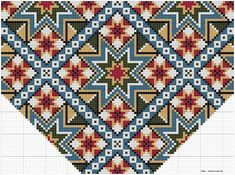Bilderesultater for brystduk Hardanger Embroidery, Cross Stitch Embroidery, Cross Stitch Patterns, Beading Patterns, Embroidery Patterns, Knitting Patterns, Palestinian Embroidery, Tapestry Crochet, Bead Crochet