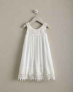 girls lace tank dress